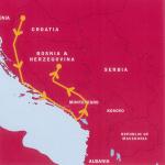 バルカン半島ハイライト クロアチア・モンテネグロ・ボスニアヘルツェゴビナ3カ国周遊9日間