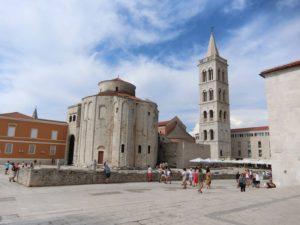 聖ドナト教会と聖ストシャ大聖堂の塔