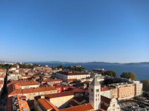 聖ストシャ大聖堂からの景色
