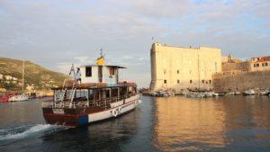 ドブロブニク クルーズ船