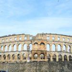 ローマ遺跡の残るイストラ半島最大の街・プーラ