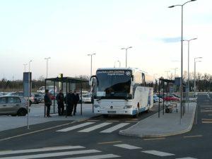 ザグレブ空港シャトルバス