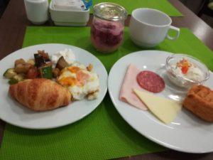 ホテルヤドランの朝食