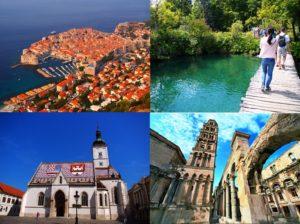 クロアチア観光地