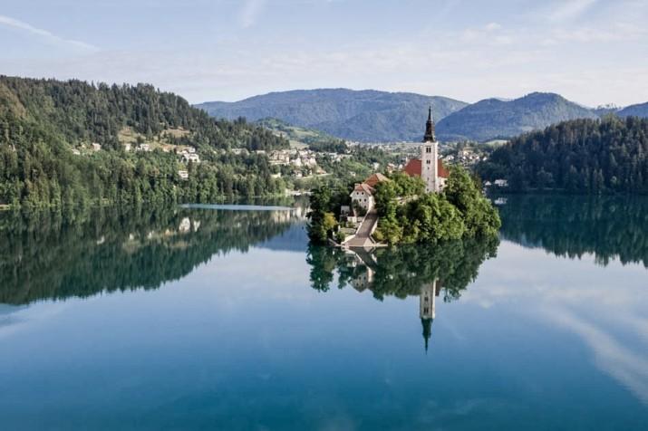 スロヴェニア ブレッド湖 ウェディング